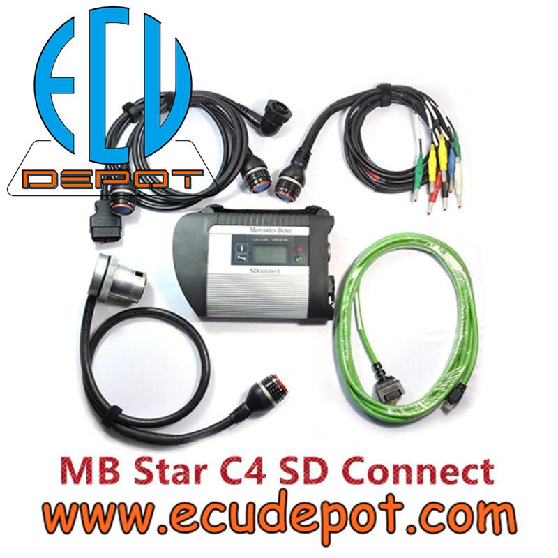 Mercedes Benz Star C4 SD Connect Diagnosis Xentry DAS System Compact 4  Multiplexer