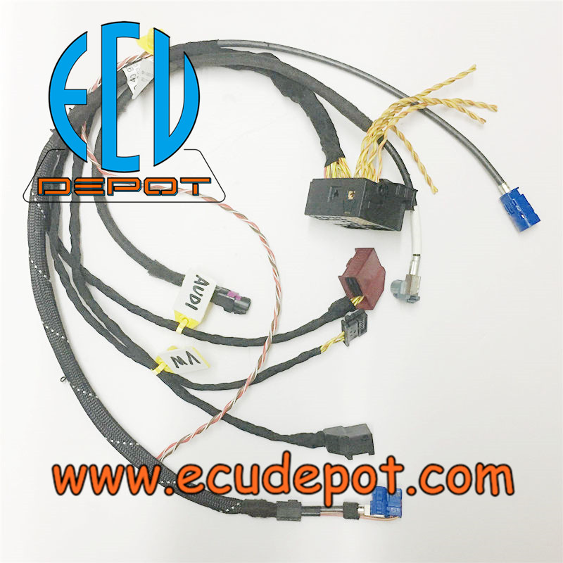 Audi Volkswagen Combined Mib On Bench Test Platform Cables