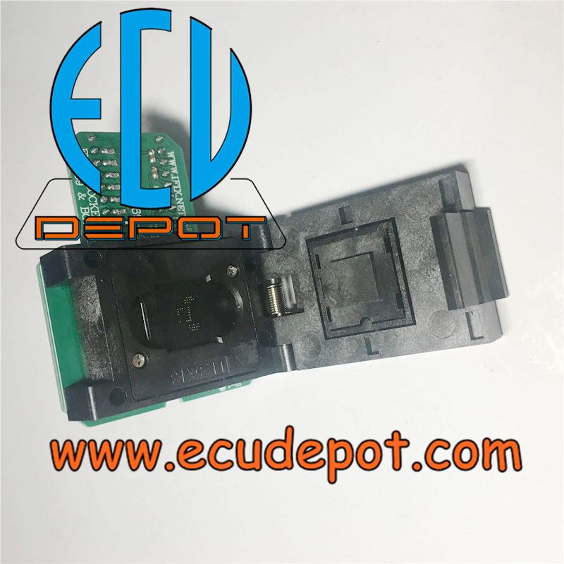Automotive Head unit navigation host EMMC Chip programming socket BGA153  BGA169