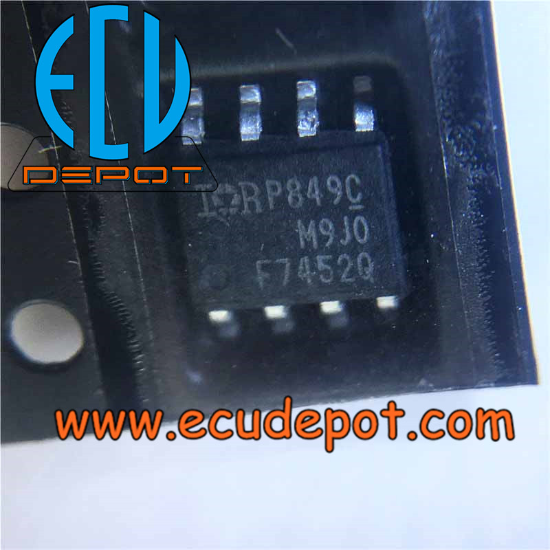 F7452Q Widely used car BOSCH ECU vulnerable chips