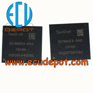 Flash Memory chip - WWW ECUDEPOT COM | ECU Repair Solution Center